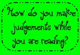Making Judgments Flipchart