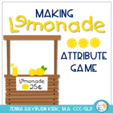 Making Lemonade: Attribute Matching Game