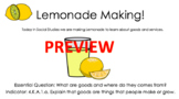 Making Lemonade Goods and Services