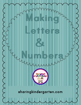 Making Letters & Numbers