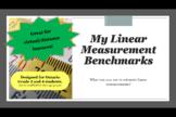 Making Linear Measurement Benchmarks: Grade 4