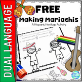 Making Mariachis A Mexican Independence Day or Cinco de Mayo Free Activity