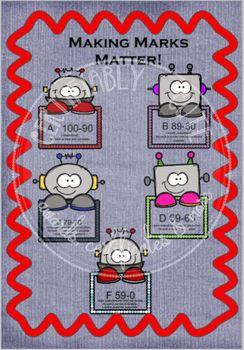 Making Marks Matter Grade Chart