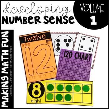 Making Math Fun Volume 1 - Developing Number Sense