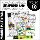 Making Math Fun Volume 10 - Measurement, Graphing, & Data Analysis