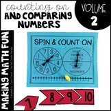 Making Math Fun Volume 2 - Comparing Numbers & Counting On