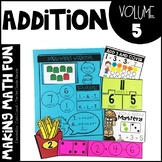 Making Math Fun Volume 5 - Addition