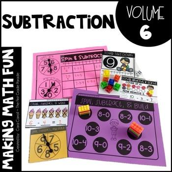 Making Math Fun Volume 6 - Subtraction