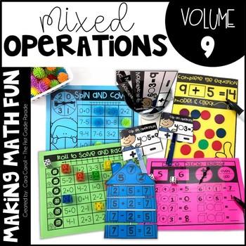 Making Math Fun Volume 9 - Mixed Operations