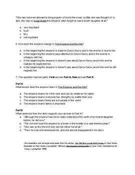 Making Meaning 3rd Grade Unit 4: Wondering/Questioning Comprehension Tests