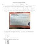Making Meaning 3rd Grade Unit 6: Using Text Features Comprehension Tests