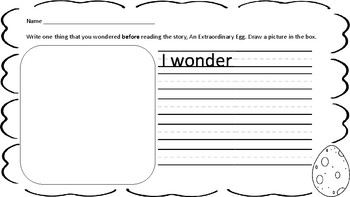 Making Meaning Unit 5: Wondering
