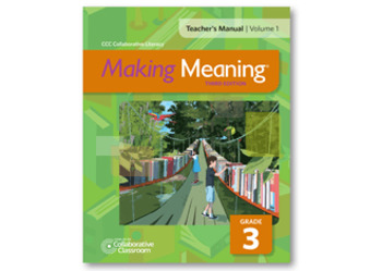 Making Meaning Weekly Assessments