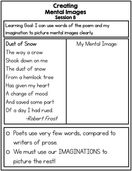 Making Meaning Of Poetry By Read Write Grow With Mrs K Tpt It is meant to be interpreted by the reader in the way he or. making meaning of poetry