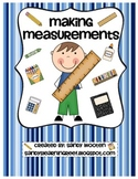 2.MD.1, 2.MD.3 Measuring & Estimating Lengths Differentiated Math Station