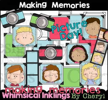 Making Memories Clipart Collection By Whimsical Inklings Tpt