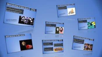 Making Metaphors for World History- (UNIT 9) Cold War (60s-70s) - PPT & Handouts