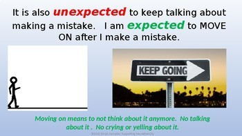 Making Mistakes; Helping Kids Stay Calm When They've Made a Mistake