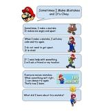 Making Mistakes (Mario) Social Story