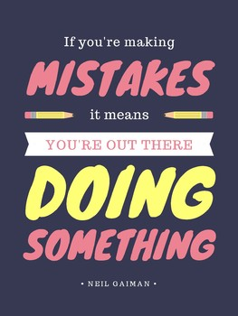 Making Mistakes Poster