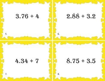 Making Models for Dividing Decimals