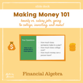 Making Money 101 an introduction to working, college, and