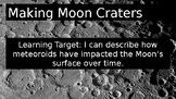 Making Moon Craters Science Lab