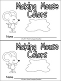 Color Words Emergent Reader Making Mouse Colors - Kindergarten