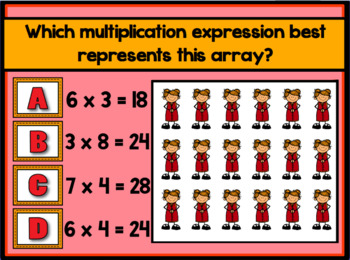 Making Multiplication Arrays Promethean ActivInspire Flipchart Lesson