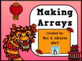 Making Multiplication Arrays Promethean ActivInspire Flipchart Lesson