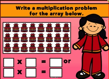 Making Multiplication Arrays SMARTBOARD Lesson