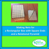 Geometry-Making Nets-Rectangular Box with Square Ends and