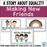 Making New Friends - A Friends Social Story about Equality