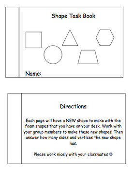 Making New Shapes Activities