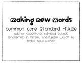 Making New Words