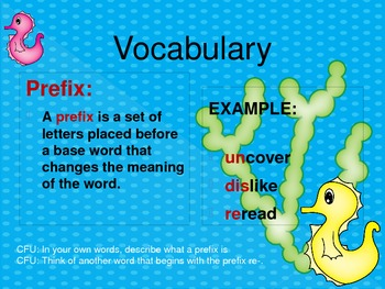 Making New Words With the Prefixes un-, re-, and dis-