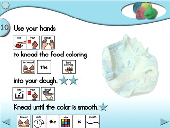 Making No-Cook Play Dough - Animated Step-by-Step Craft - PCS