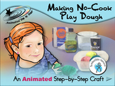 Making No-Cook Play Dough - Animated Step-by-Step Craft -