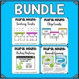 Plural Nouns Activities:  BUNDLE