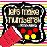 Making Numbers 1-20 - Using Counter or Beans!