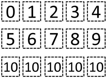 Making Numbers 10 to 20