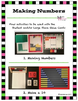Making Numbers with Place Value Cards