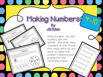 Making Numbers 4-10 in multiple ways