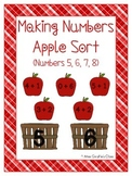 Making Numbers Apple Sorting Center
