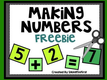 Making Numbers Freebie