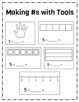 Making Numbers w/ Tools