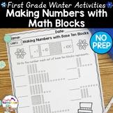 Making Numbers with Base Ten Blocks - 1.NBT.1