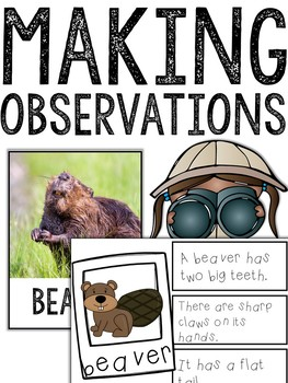Making Observations HABITATS Bundle