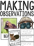 Making Observations HABITATS Collections
