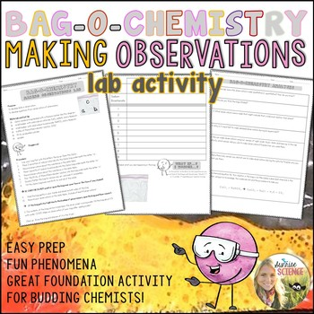 Making Observations in Science Activity